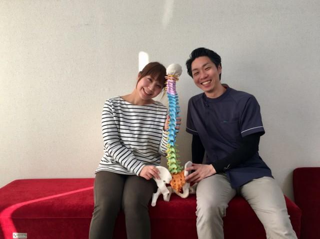 患者さんとの写真3。千葉県柏市で整体院をお探しなら宮田カイロプラクティックにお任せ下さい!