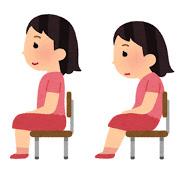 同じ姿勢の画像