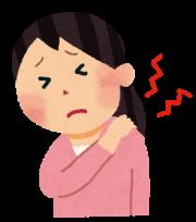 肩の痛みの画像