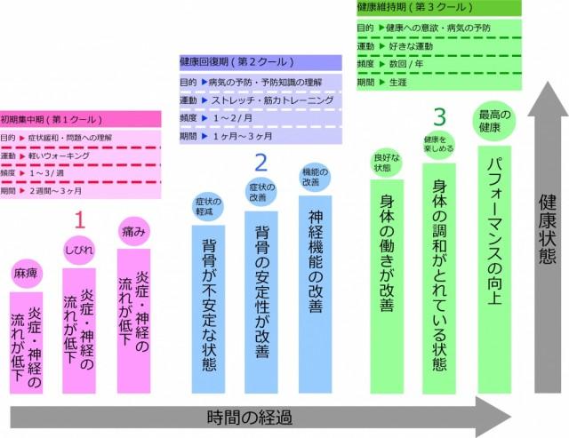 カイロプラクティックケアの三段階 画像