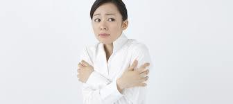 冷え症の女性 画像